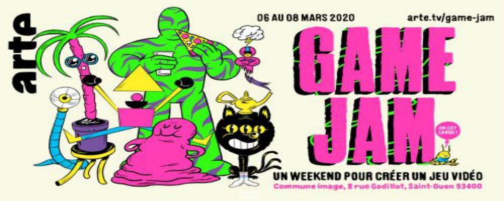 Acteurs de l'E-Sport, Bienvenue à la Game Jam Arte 2020