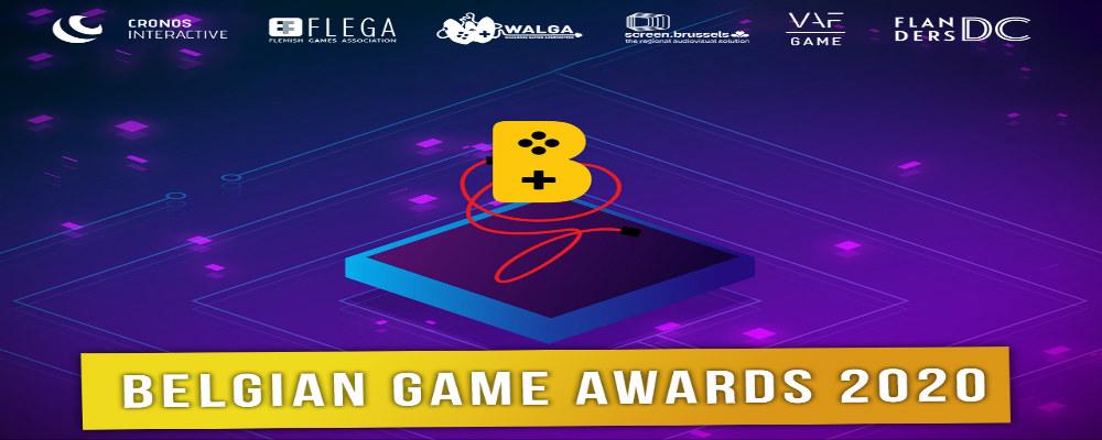 Cérémonie de remise de prix lors de la Belgian Game Awards 2020