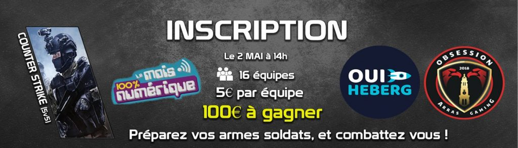 Tournoi Counter-Strike Arras